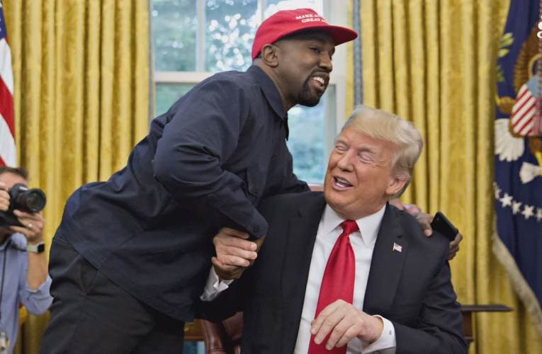 Kanye West On Supporting Trump: 'I'm A Black Guy With A MAGA Hat On, Can You Imagine?'