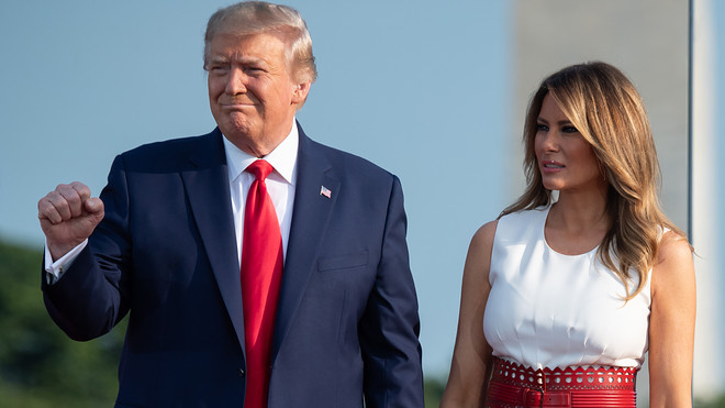 BREAKING: President Donald Trump, First Lady test positive for coronavirus