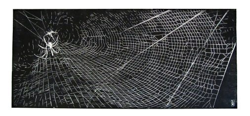 A Spiders Home (2012) 90x40cm