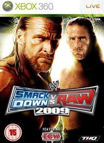 WWE-SmackDown-Vs-Raw-2009-[Spanish]-(Poster)