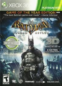 Batman Arkham Asylum Goty Edition Xbox360