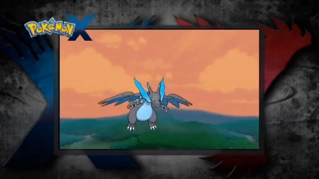 Charizard X looks pissed!