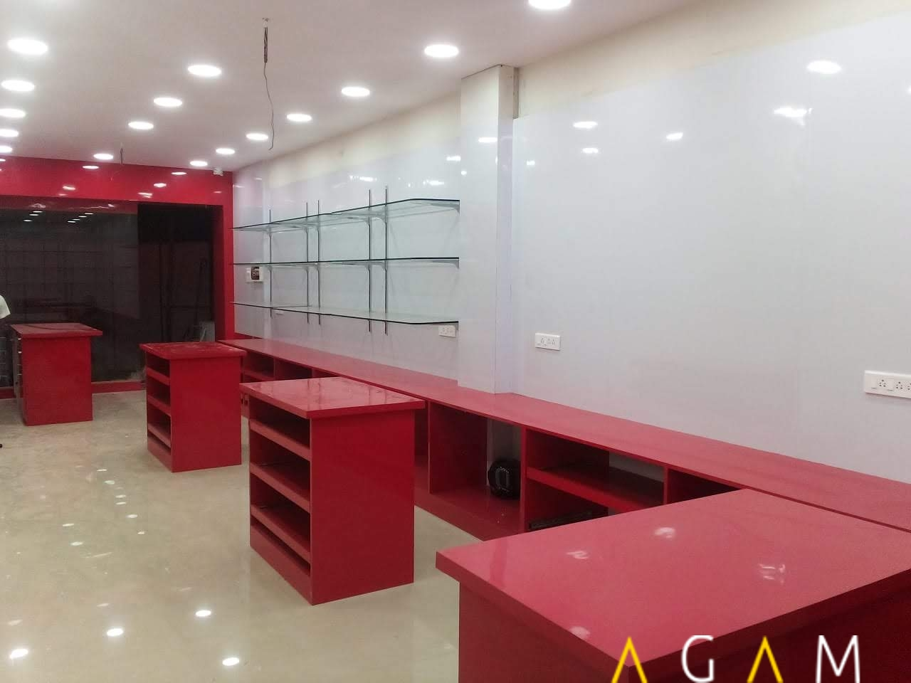 Showroom interior in coimbatore