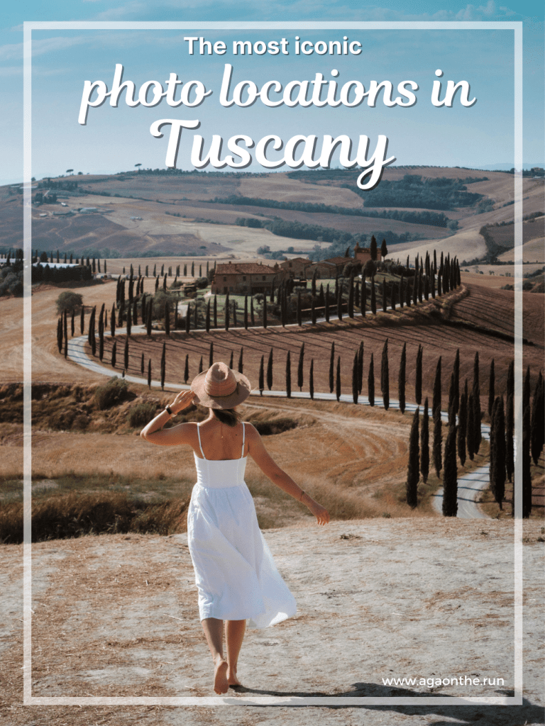 Best photo locations in the Tuscan countryside
