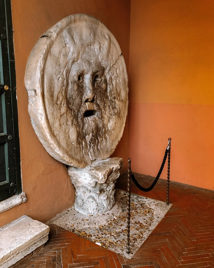 The Mouth of Truth - hidden gems in Rome