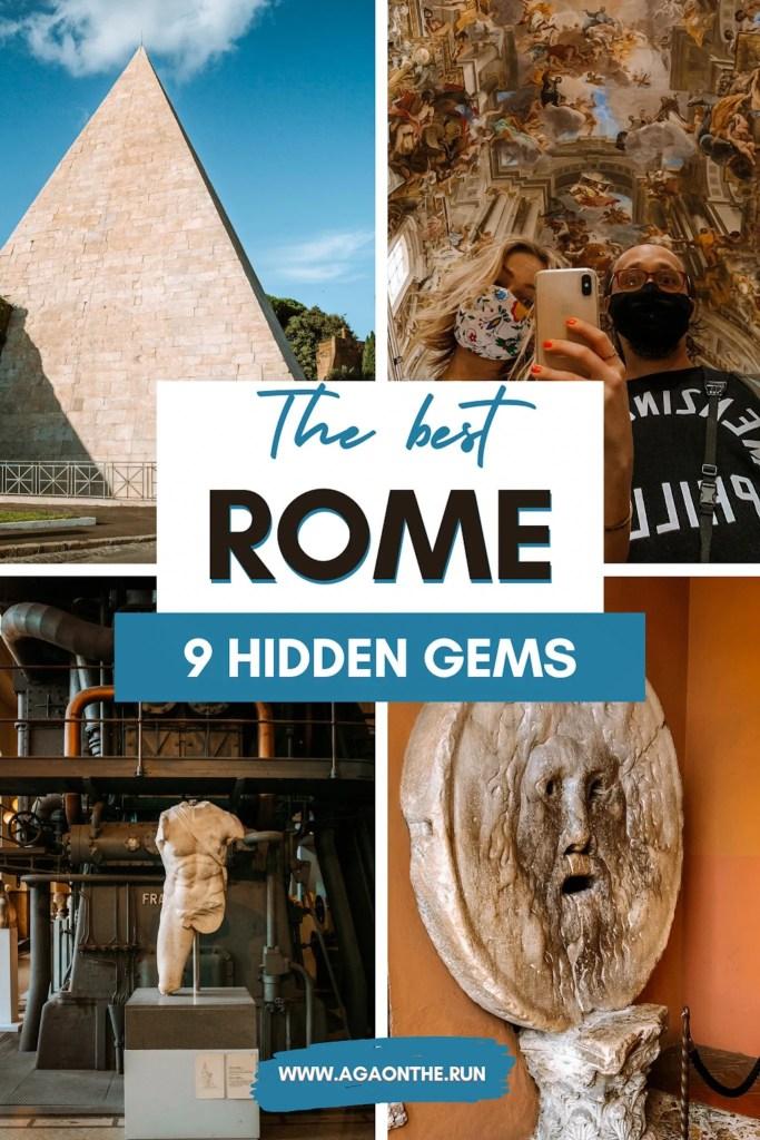 Hidden gems in Rome - Pinterest