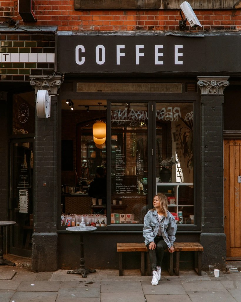 Have a coffee in Northern Quarter in Manchester
