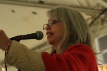 Maritza speaking