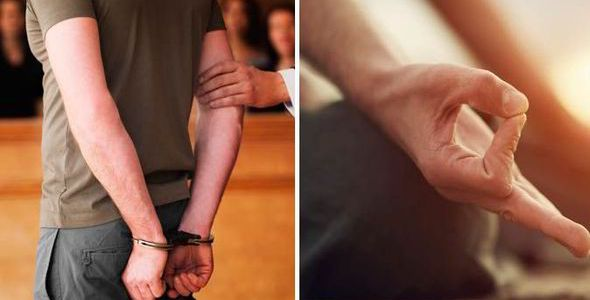 AGAPE supports meditation and yoga for the prisoners of the UK!