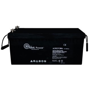 AGM 12V 200Ah Deep Cycle Battery Heavy Duty
