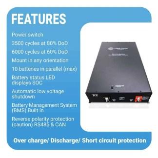 LFP48V150 LiFePO4 48v 150 AH Battery