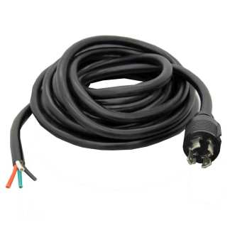 30 AMP Generator Output Cable 4 Wire 10 AWG