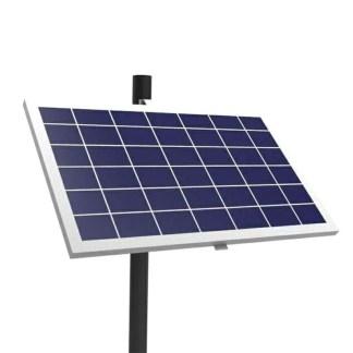 Single Solar Panel Pole Mount Bracket