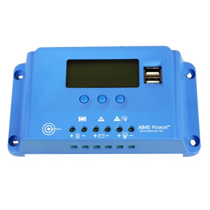 PWM 10 amp charge controller by Aims Power