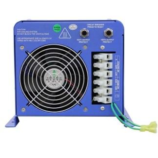 6000 WATT PURE SINE INVERTER CHARGER, 24 VDC 120/240 VAC 50 OR 60HZ
