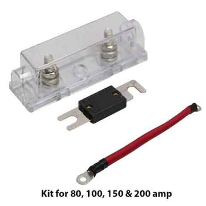 ANL 80 Amp fuse kit with 6 AWG jumper