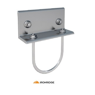 IronRidge 3″ Rail Connector Bracket Bonded
