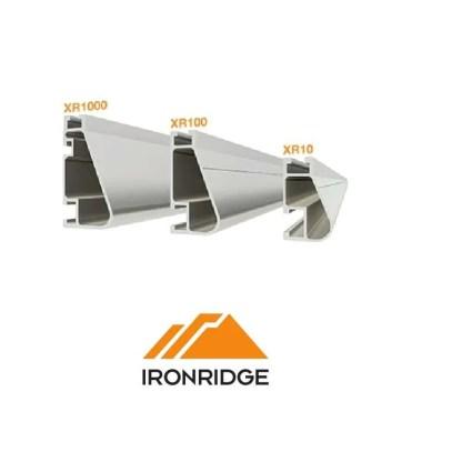 IronRidge XR-10, 100, 1000 Clear Anodized Rails