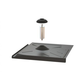 Pegasus Solar PEGSO PSTR-FWB0 Solar Racking Flashing for use on 'Flat' tile roofs. Requires Tile Sled with Lag Bolts.
