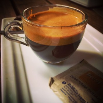 """""""Expensive"""" espresso, worth the $1.40"""