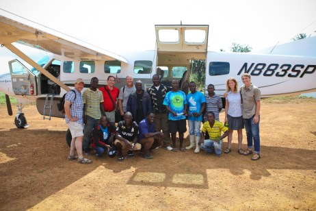 Meet the team before we departed on the Samaritan's Purse flight out of Grand Kru County