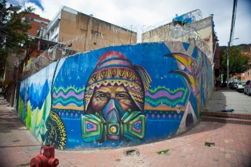 Bogota attracts both home-grown and world renowned artists to practice their art as a form of artistic and cultural expression.