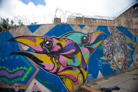 We've never seen so much street art in one place!
