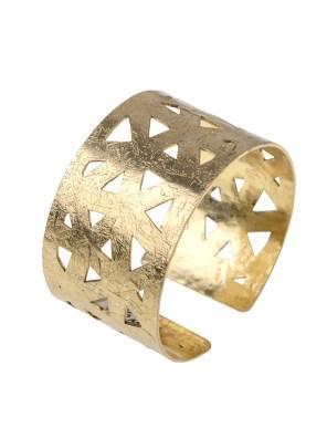 Χειροποίητο βραχιόλι από ορείχαλκο. Σχεδιασμένο για να τραβά τα βλέμματα αυτό το βραχιόλι θα σας γοητεύσει. Προσαρμόζεται σε όλα τα μεγέθη. Όλα τα κοσμήματα Agapi concept μένουν αναλλοίωτα αφού έχουν εμβαπτιστεί σε ειδικά βερνίκια. Αναδείξτε το στυλ σας με τα πιο fashionable κοσμήματα προσιτής πολυτέλειας. Μοναδικές δημιουργίες για statement εμφανίσεις.