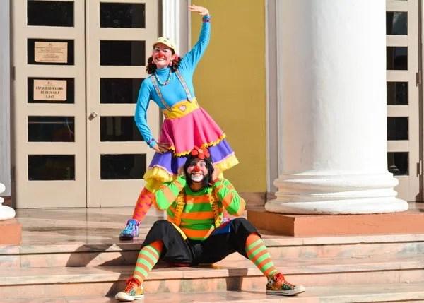 Foto de los Payasos Potoco y Agapita