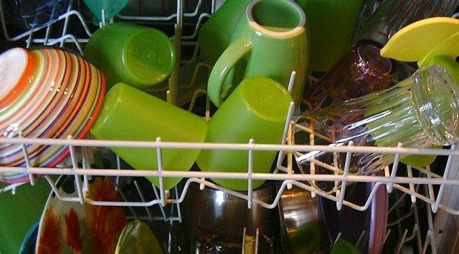 trastera en el dishwasher