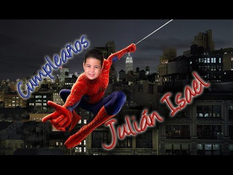 Video-invitación al cumpleaños de Julián Isael