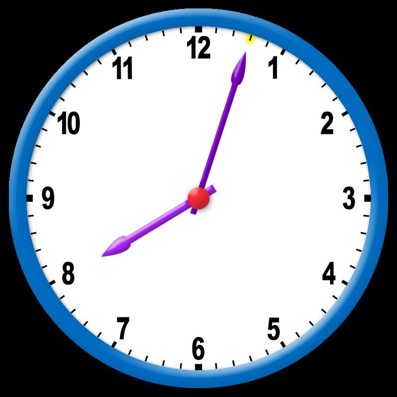 Reloj De Manecillas Marca 803 Aprende A Leer La Hora