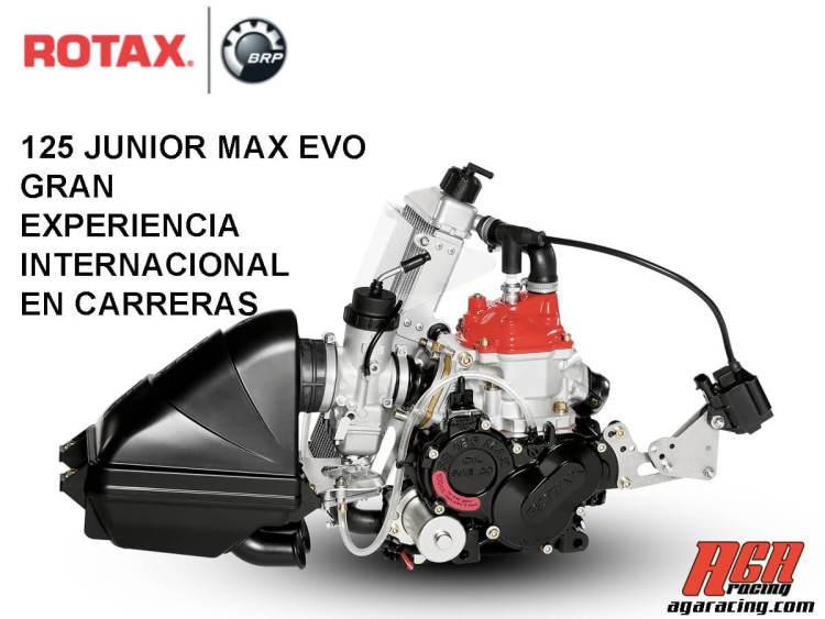 motor karting rotax junior max evo