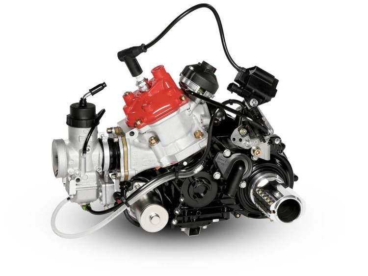motor karting rotax 125 max dd2 evo lateral