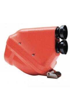 """filtro aire 30mm rojo y negro """"ACTIVE"""""""