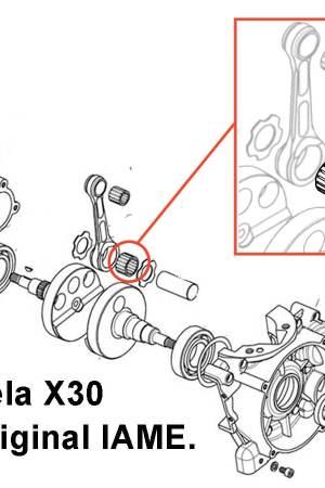 comprar jaula biela para motor Iame X30