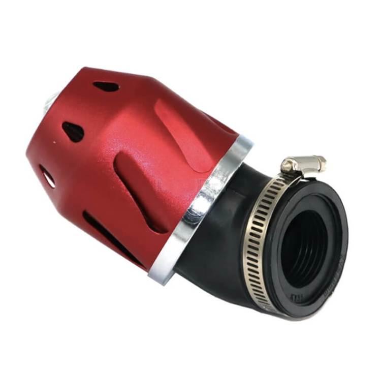 filtro aire universal kart y moto rojo