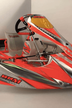 chasis kart brm racing lateral