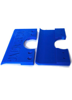 protecciones plásticos suelo kart