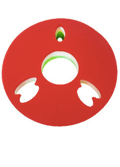 Soporte inclinado volante 14º universal Soporte Inclinado Volante 14º Universal rojo blanco y verde