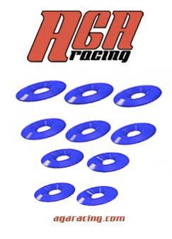 Set 10 arandelas cónicas M8 diámetro 30