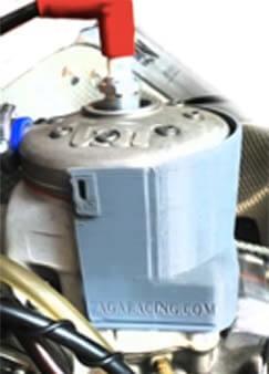 protector puesto en un cilindro tm