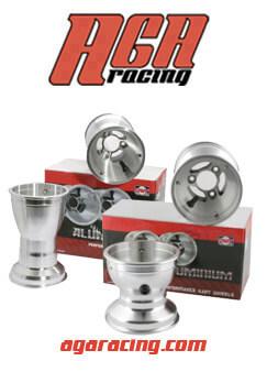 Set Llantas 130/210 Dwt Aluminio