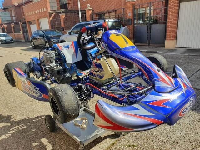 kart ckr segunda mano venta en aga racing, tienda online de de karting