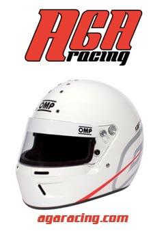 Casco OMP GP-R K para karting gama media-alta AGA Racing tienda karting