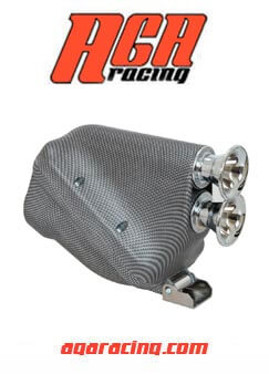 Filtro Aire Active KZ 30mm Carbono AGA Racing tienda online karting