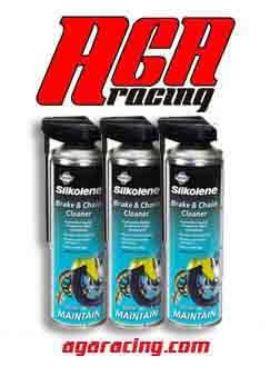 limpia frenos y cadenas de fuchs AGA Racing tienda online karting