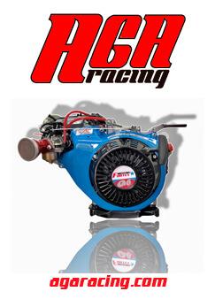 Motor 4 tiempos Fortex G6 completo carrera resistencia AGA Racing tienda karting online