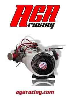 Motor Fortex G7 completo 4 tiempos carrera resistencia AGA Racing tienda karting