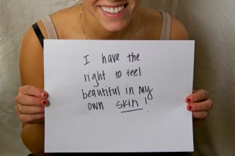 Corinne- I have the right to feel beautiful in my own skin